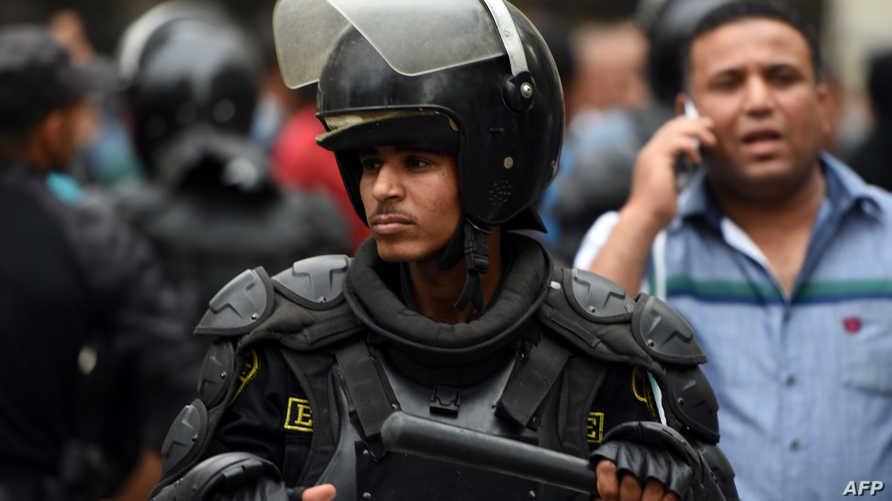 عنصر أمن مصري (أرشيف)