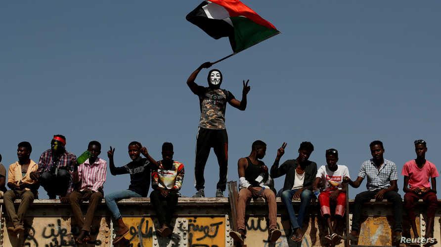 من تظاهرات السودان. أرشيفية