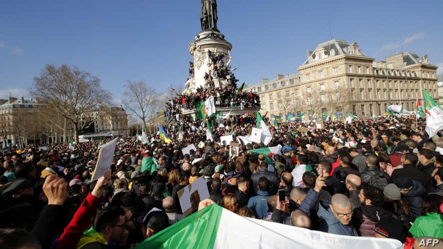 جانب من تظاهرات الجزائر