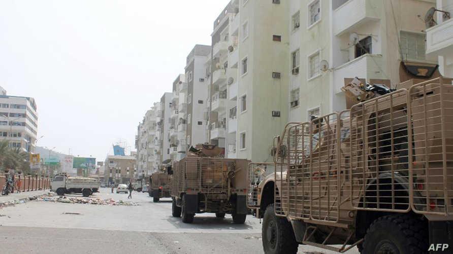قوات موالية لهادي في عدن