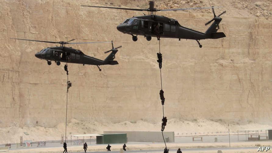 جانب من مناورات عسكرية سابقة في الأردن