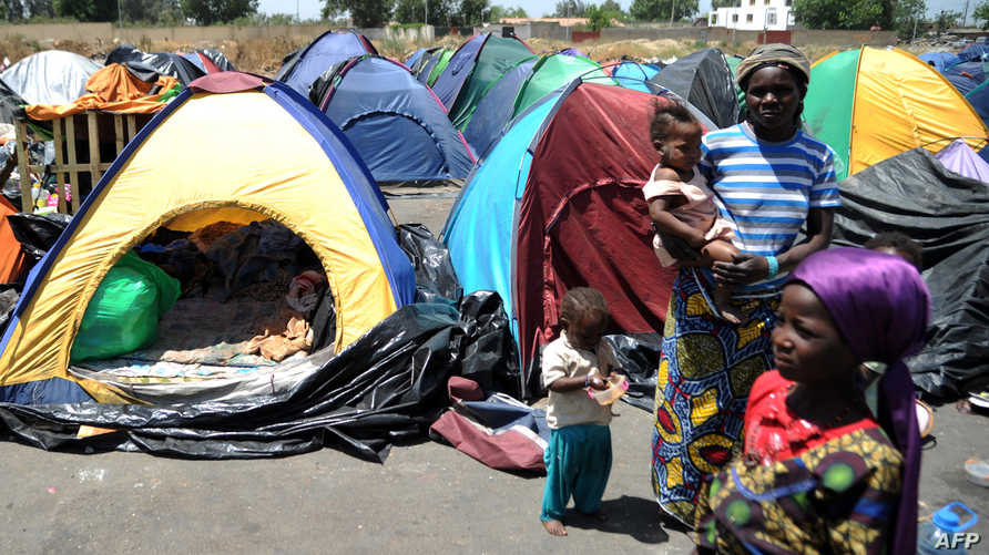 مهاجرون أفارقة في الجزائر-أرشيف