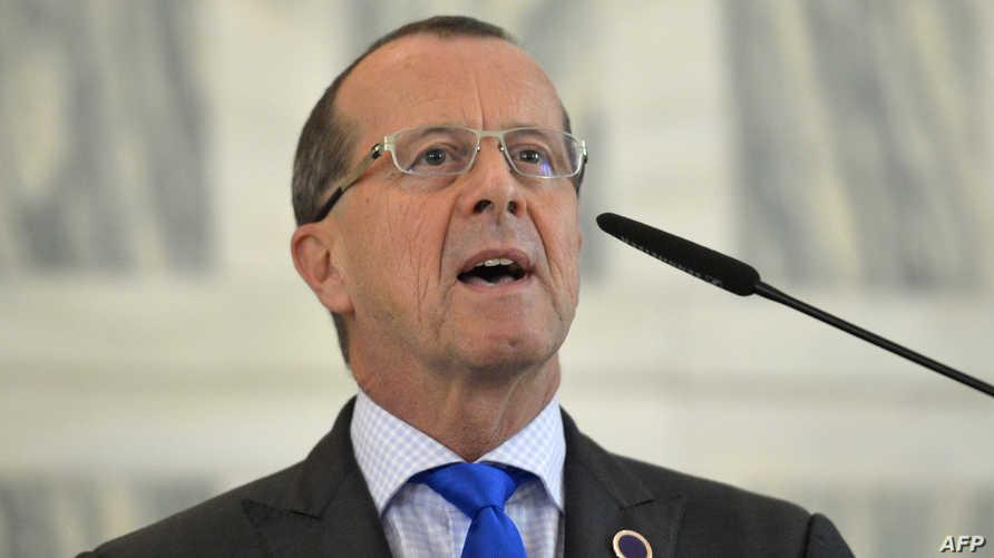رئيس بعثة الأمم المتحدة إلى ليبيا مارتن كوبلر