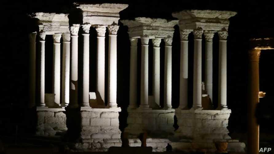 آثار في مدينة تدمر