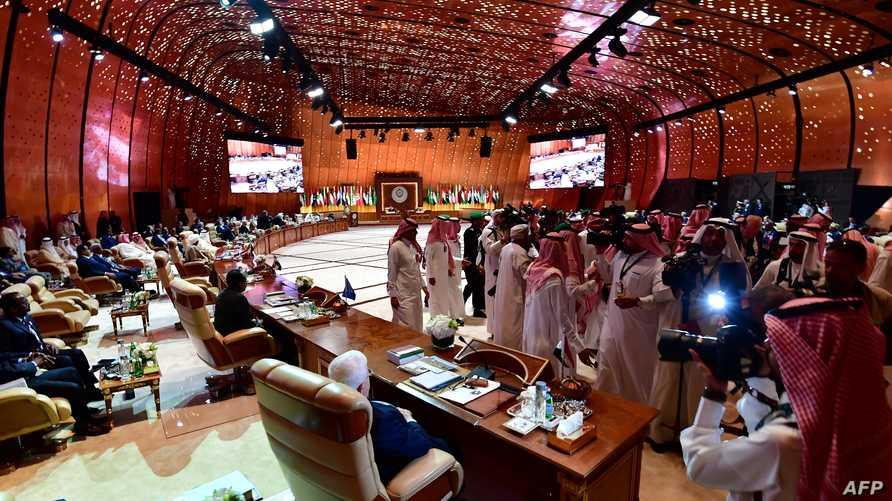 خلال القمة الأخيرة لجامعة الدول العربية في السعودية