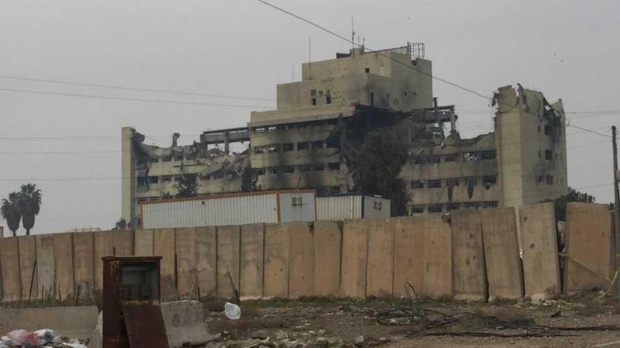 مستشفى السلام في الموصل- الصورة من موقع هيومن رايتس ووتش