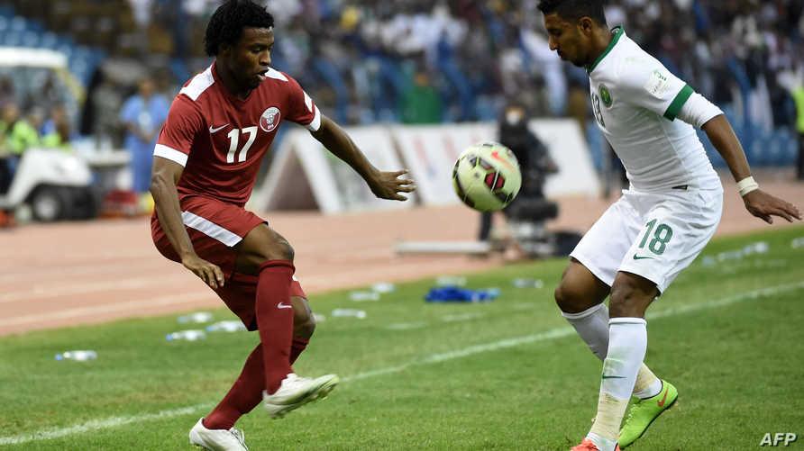 المواجهة الأخيرة بين المنتخبين انتهت بفوز قطري على الأراضي السعودية