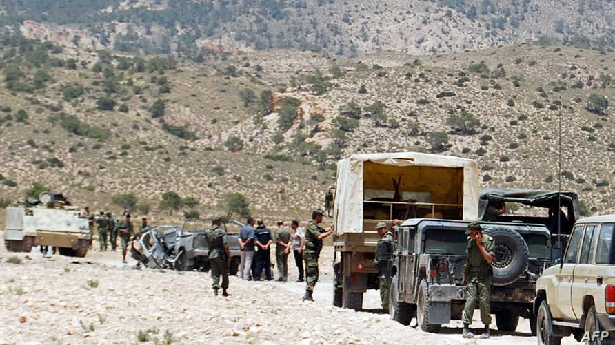 قوات عسكرية تونسية في ولاية القصرين - أرشيف