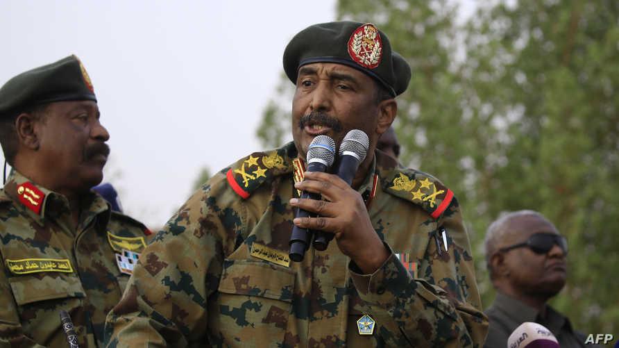 رئيس المجلس العسكري الانتقالي عبدالفتاح البرهان