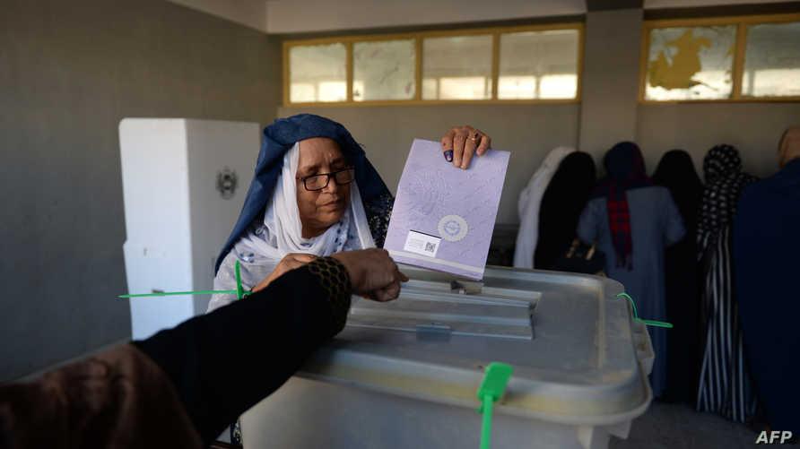 الانتخابات النيابية أجريت في أفغانستان الشهر الماضي وتعرضت لانتقادات شديدة