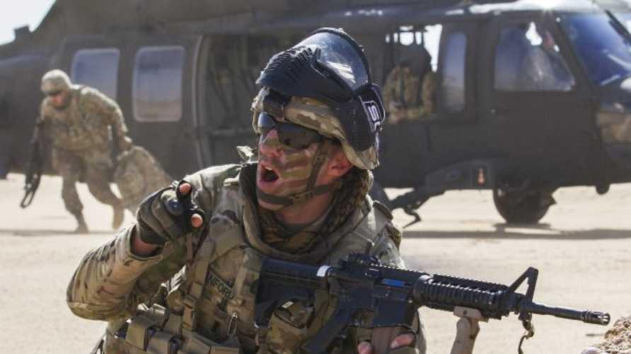 جندي في الجيش الأميركي