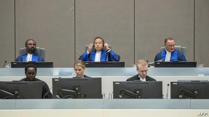 قضاة في المحكمة الجنائية الدولية