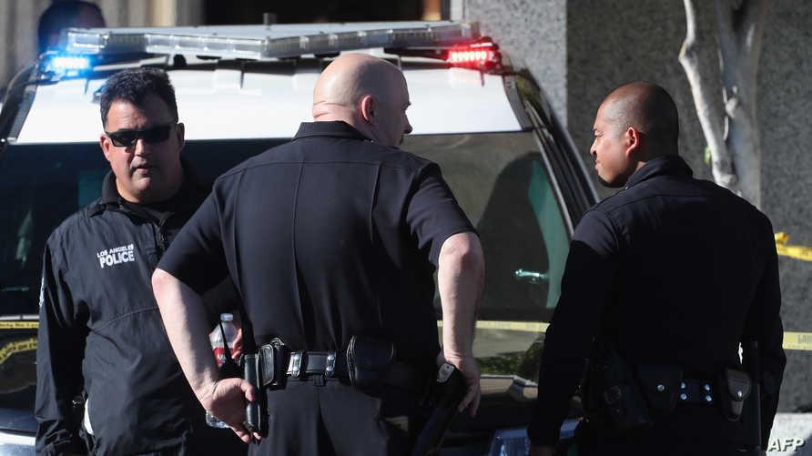 عناصر في شرطة كاليفورنيا- أرشيف