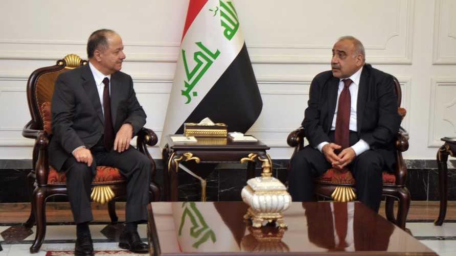 صورة نشرها حساب رئيس الوزراء العراقي على تويتر للقاء