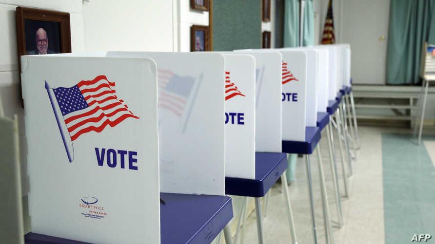 مركز انتخابي في الولايات المتحدة