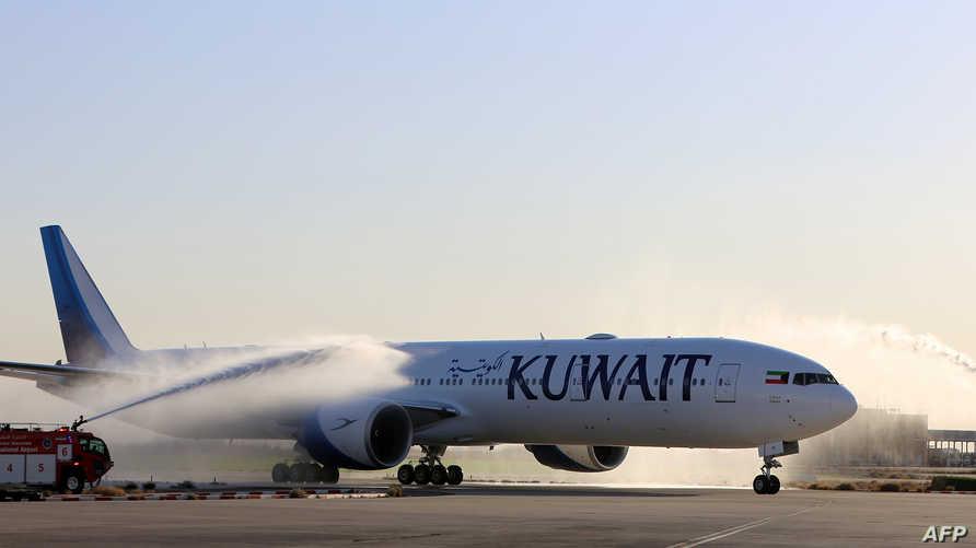 طائرة تابعة لشركة الخطوط الجوية الكويتية