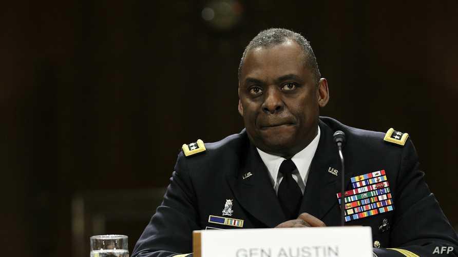 قائد القوات الوسطى الأميركية الجنرال لويد أوستن