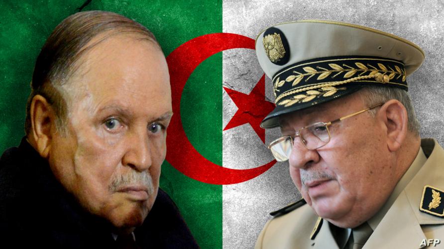 الرئيس بوتفليقة وقائد أركان الجيش قايد صالح