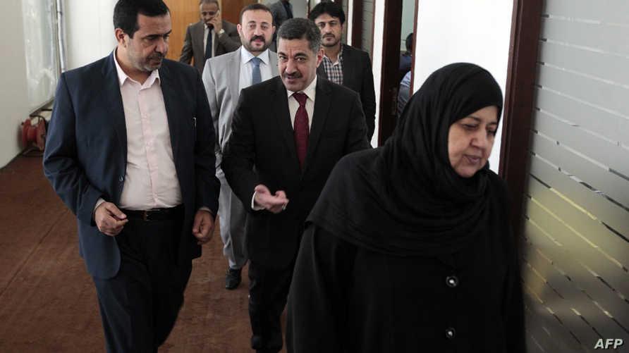 عدد من النواب المعتصمين في البرلمان العراقي