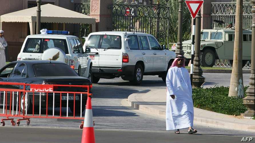 سيارات تابعة للشرطة الإماراتية-أرشيف