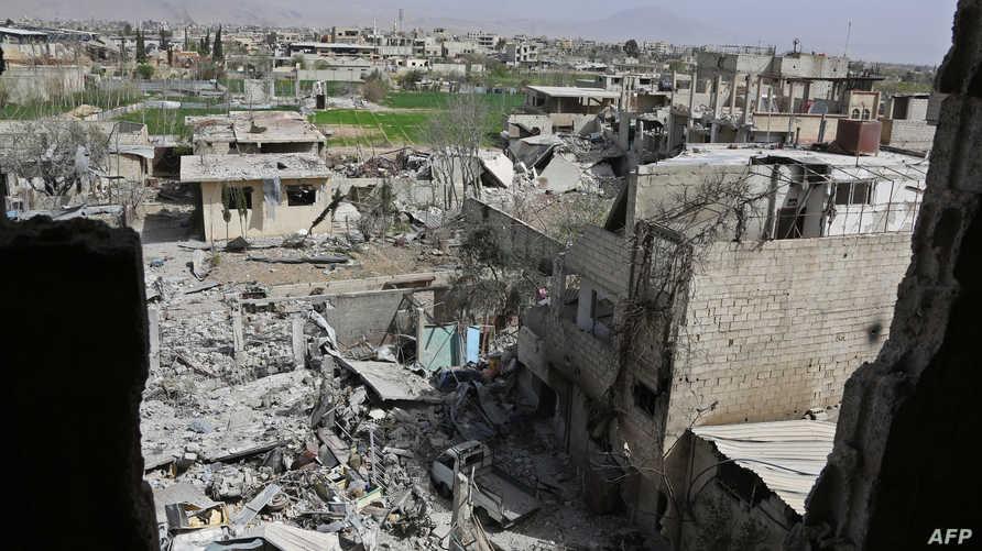 ما تبقى من درعا