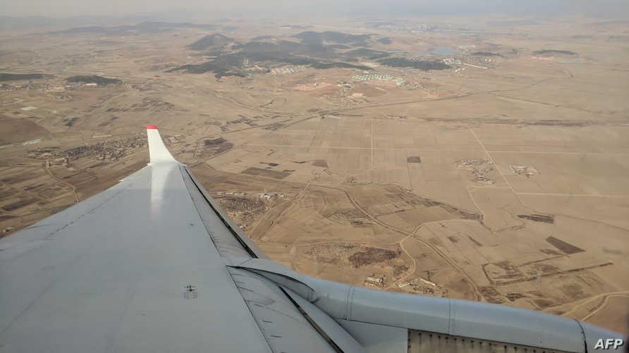 حقول شمال بيونغ يانغ تعرضت للجفاف