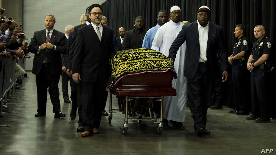جنازة محمد علي الإسلامية