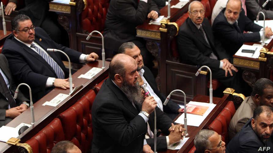 البرلمان المصري خلال فترة حكم محمد مرسي- أرشيف