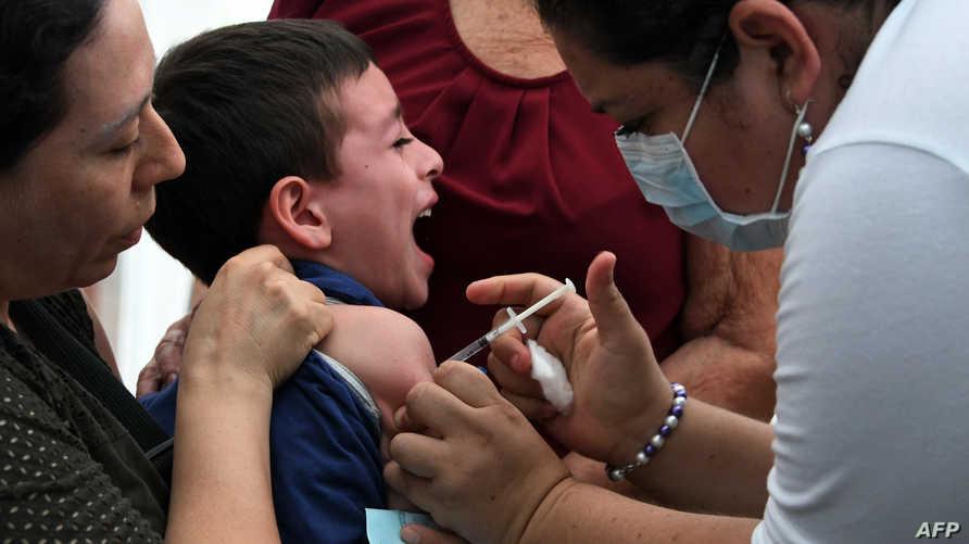 لقاح الإنفلونزا. تعبيرية
