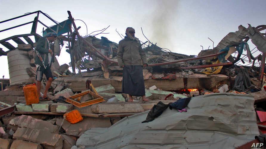 آثار هجوم سابق في صعدة، أرشيف