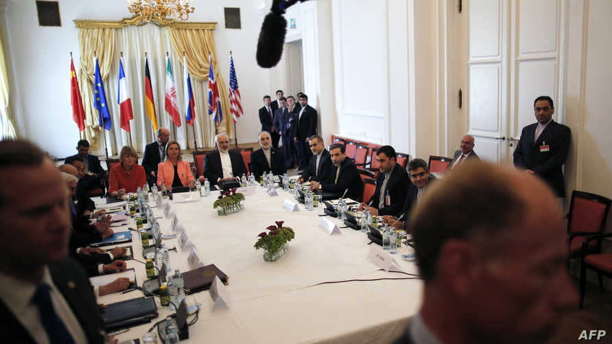 جانب من المحادثات النووية في فيينا