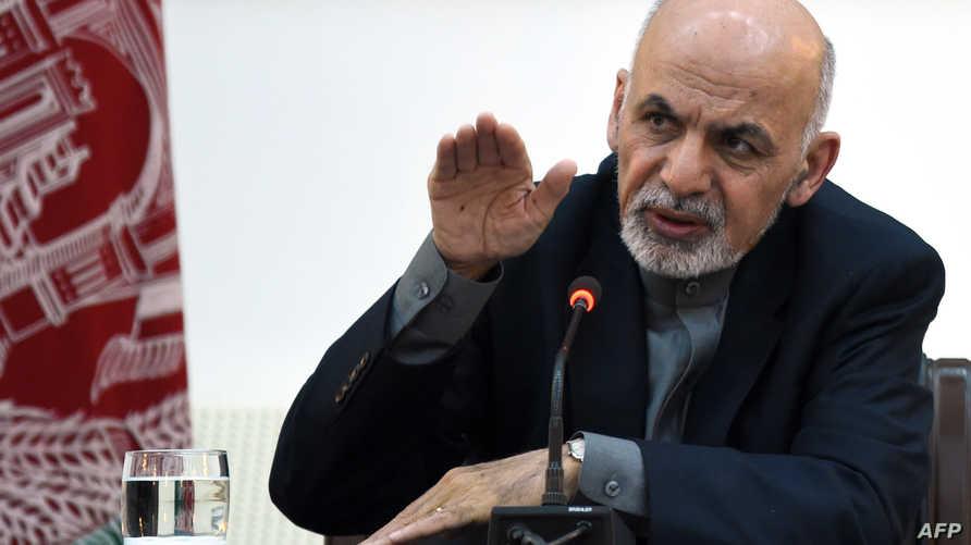 الرئيس الأفغاني أشرف غني - أرشيف