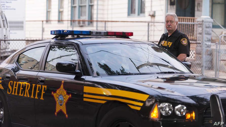 عنصر من الشرطة الأميركية في ولاية أوهايو (أرشيف)