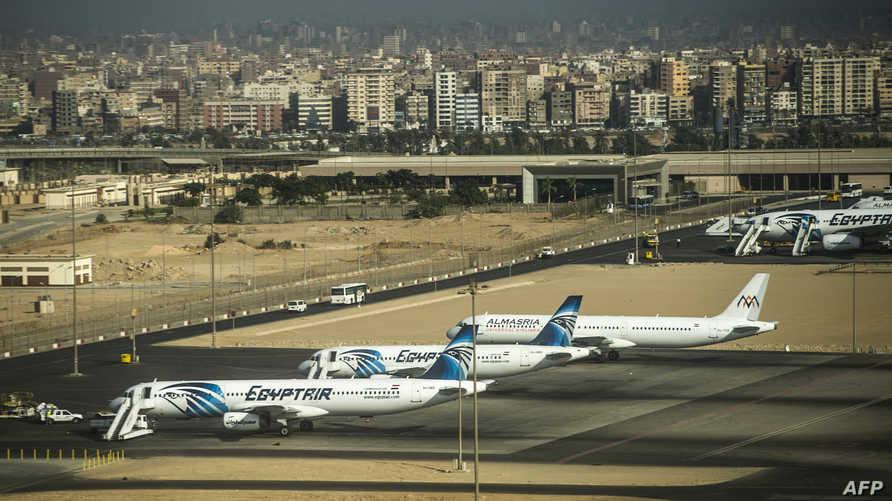 جانب من مطار القاهرة