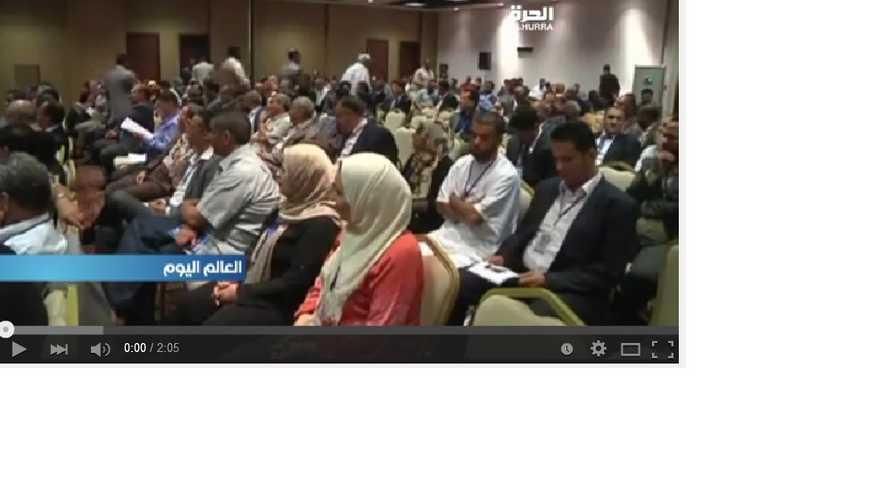 جانب من جلسة برلمان طبرق لمناقشة تشكلية حكومة الوحدة الوطنية المقترحة