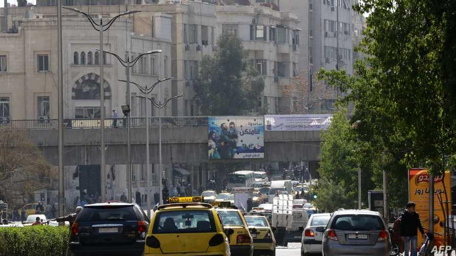 أحد شوارع دمشق