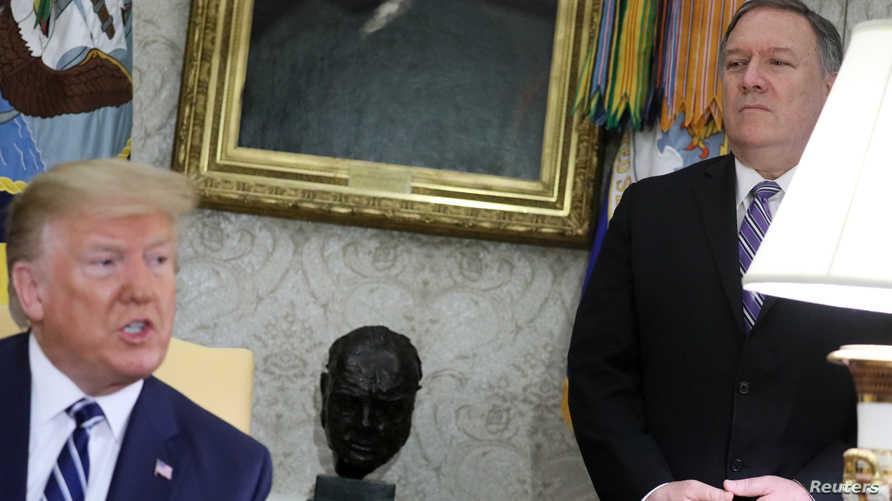 ترامب فرض سلسلة عقوبات على النظام الإيراني.