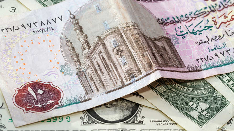عملة مصرية من فئة 10 جنيهات