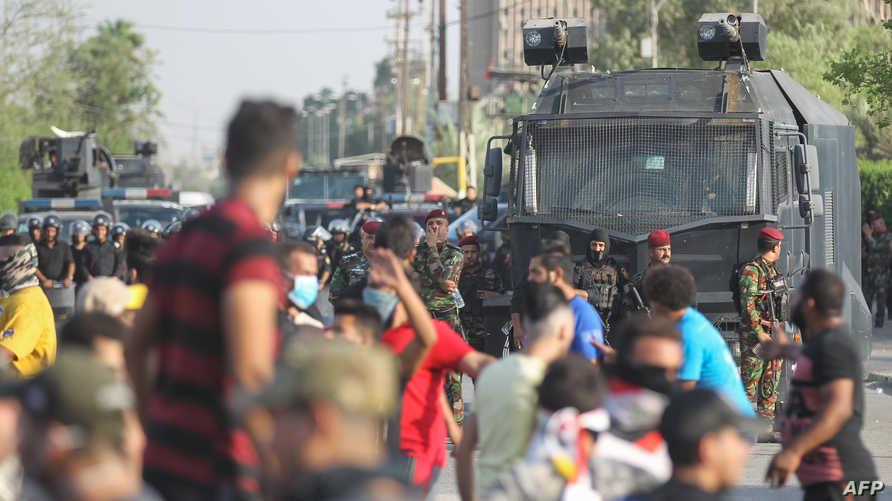 """""""العفو الدولية"""" تطالب السلطات العراقية بالكف عن """"استخدام القوة"""""""