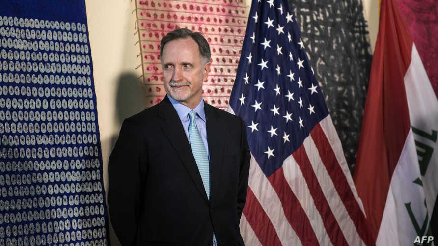 السفير الأميركي الجديد لدى مصر روبرت ستيفن بيكروفت