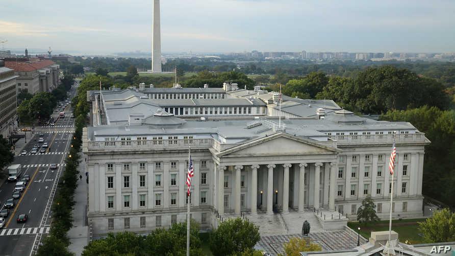 مبنى وزارة الخزانة الأميركية في العاصمة واشنطن