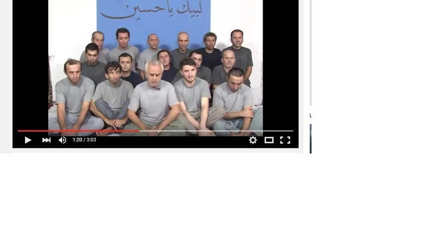 العمال الأتراك الذين اختطفتهم مجموعة مسلحة في بغداد مطلع الشهر الجاري