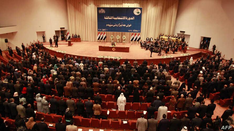 جانب من جلسة في البرلمان العراقي- أرشيف