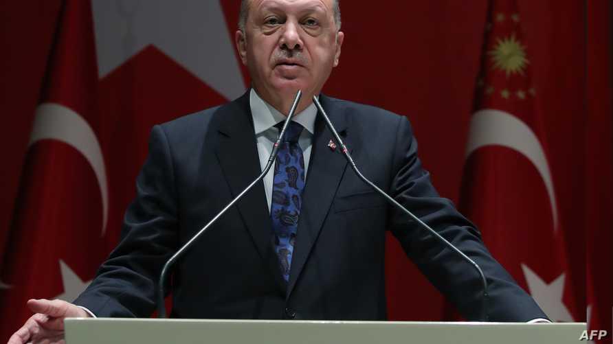 """بسبب """"جرائم سياسية"""" أو توجيه إهانة للرئيس التركي رجب طيب إردوغان."""