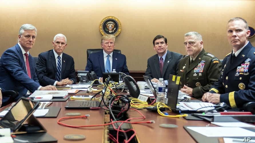 غرفة عمليات البيت الأبيض
