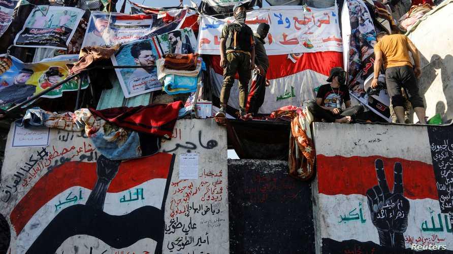 يرفض المحتجون العراقيون ترشيح أي شخصية تقلدت مناصب في الحكومات السابقة لمنصب رئيس الوزراء