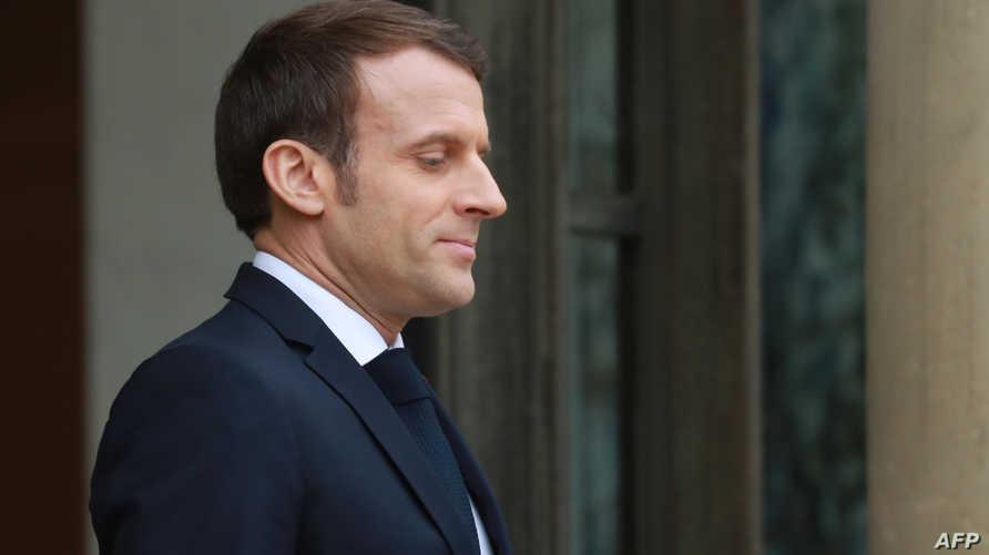 الرئيس الفرنسي إيمانويل ماكرون - 7 يناير 2020