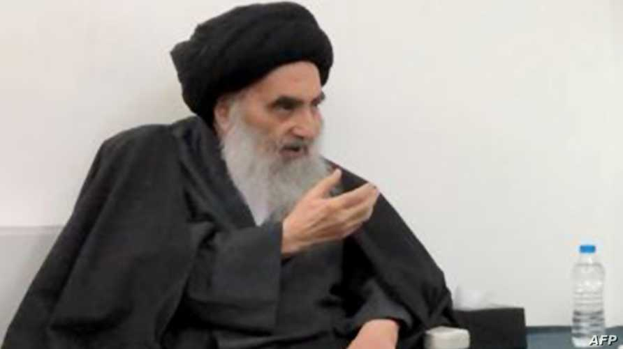 السيستاني يندد بالعنف ضد المحتجين ويقول إن أي حكومة عراقية جديدة لابد أن تحظى بثقة الشعب