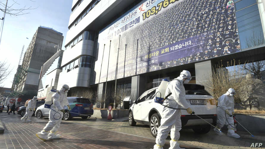 """""""مدينة أشباح"""" في كوريا الجنوبية.. بسبب تفشي كورونا"""