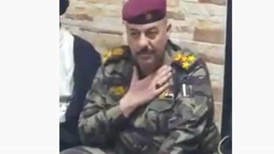 قائد قوة الصدمة في البصرة العميد علي مشاري